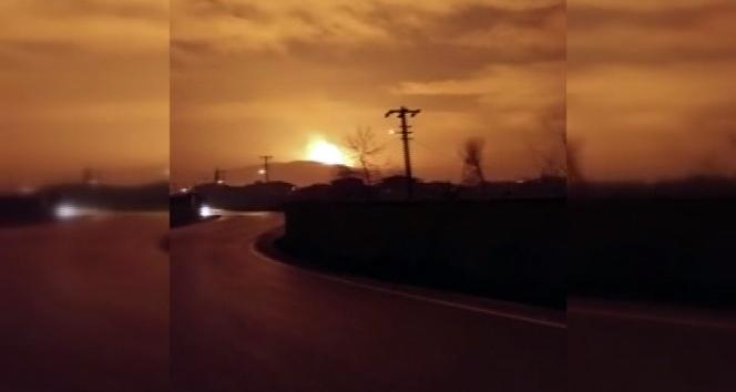 Son dakika... Sakarya'da doğalgaz patlaması! | Sakarya patlama