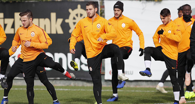 Galatasaray'da kupa hazırlıkları tamamlandı