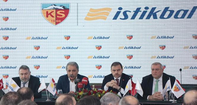Kayserispor'a isim sponsoru