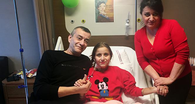 Almanya'da tedavi edilemeyen Aleyna Türkiye'de yeniden hayat buldu