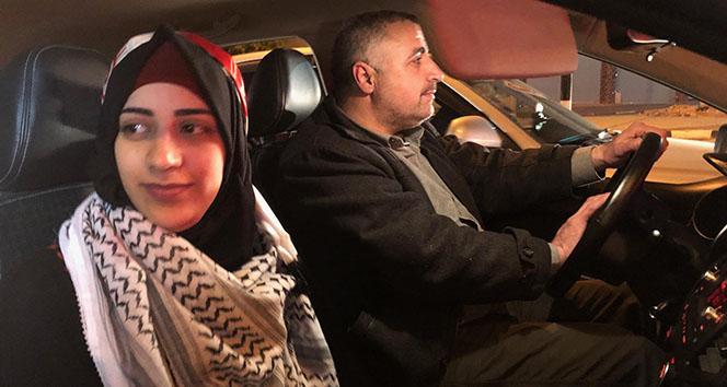 Filistinli kız, 3 yıl sonra özgürlüğüne kavuştu