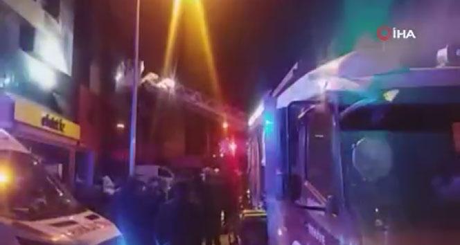 Ankara'da korkutan yangın: 5 yaralı