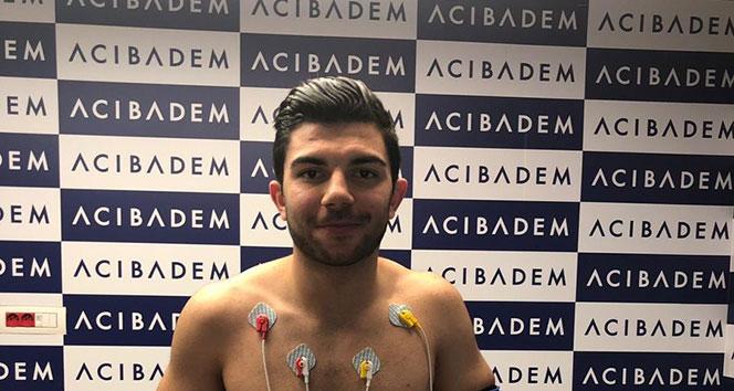 Beşiktaş'ta Muhayer Oktay sağlık kontrolünden geçti