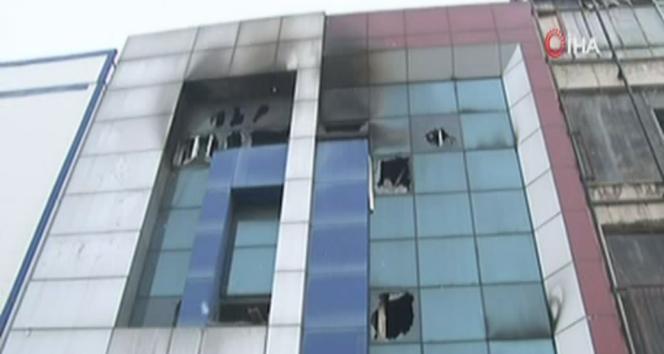 5 kişinin öldüğü firmada yangın çıkışı yokmuş