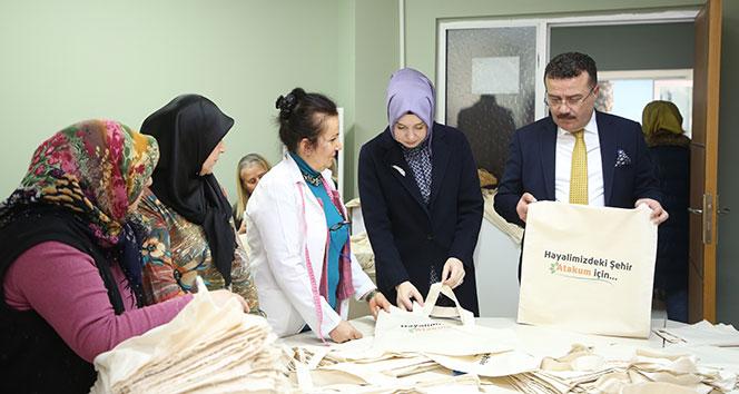 Samsun'da 3 bin bez çanta vatandaşa ücretsiz dağıtılacak