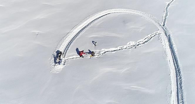 Drone ile saniye saniye kurtarma operasyonu