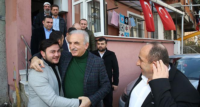 Ümraniye Belediye Başkan adayı Yıldırım, Afrin şehidinin ailesini ziyaret etti