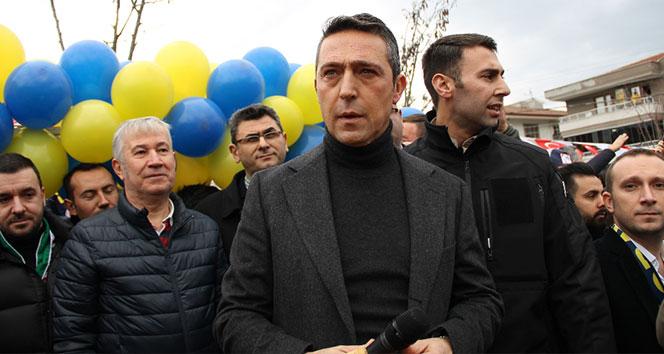 Koray Şener Parkının açılışını Ali Koç yaptı