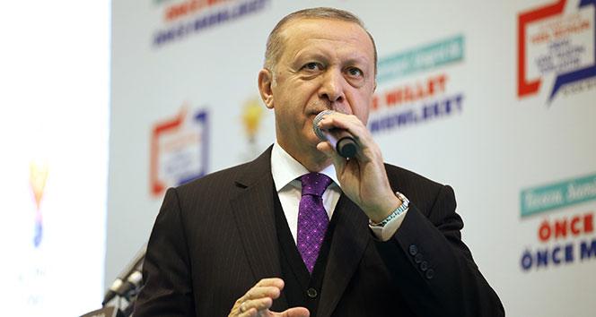 Cumhurbaşkanı Erdoğan: 'Topraklarımıza göz dikenlerin gözlerini çıkaracağız'