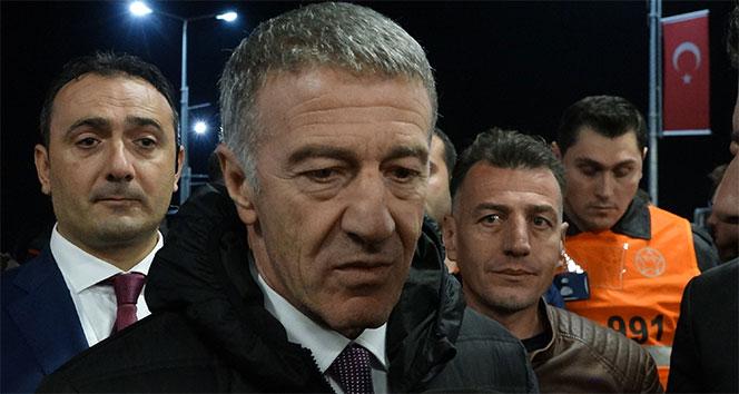 Ahmet Ağaoğlu: 'Trabzonspor'un hedefi her zaman zirvedir'