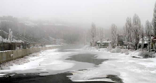 Doğu Anadolu buz kesti! Sıfırın altında 27 derece...