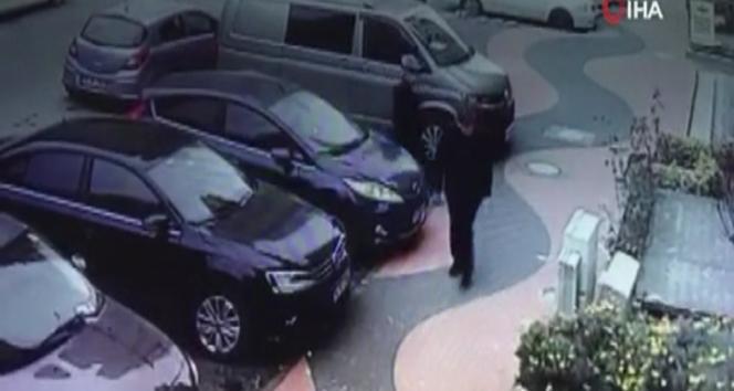 Ataşehir'deki silahlı saldırganlar güvenlik kamerasında