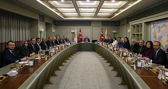 AK Parti MYK toplantısı başladı...