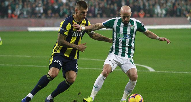 Fenerbahçe, Bursa'da son dakikada yıkıldı!| Bursaspor - Fenerbahçe kaç kaç?