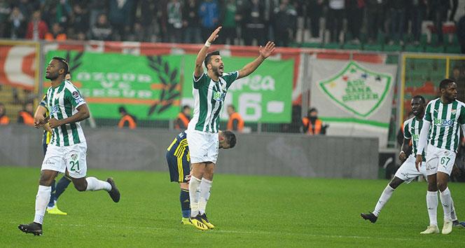 Bursasporlu futbolculardan Fenerbahçe maçı değerlendirmesi