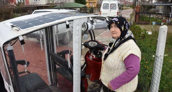 'Kezban Teyze' köyüne güneş enerji santrali kurdu