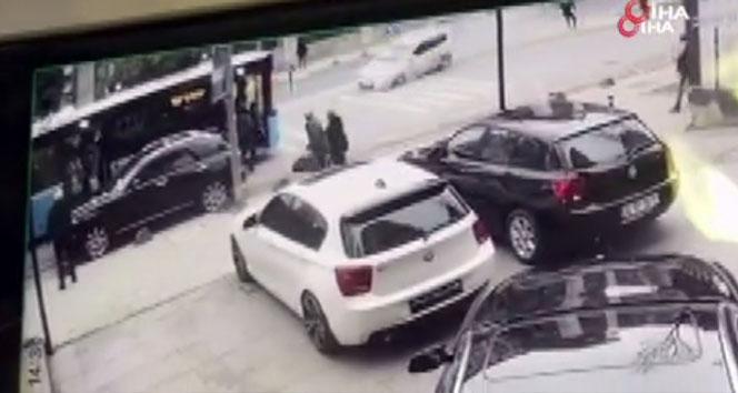 Kadıköy'ü savaş alanına çeviren kaza kamerada