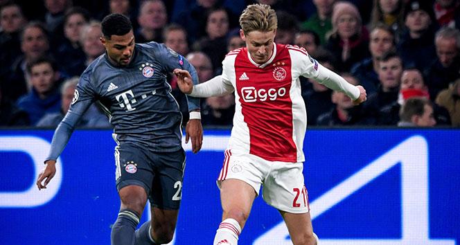 Barcelona'dan Ajax'ın genç yıldızı Frenkie De Jong için 90 milyon Euro