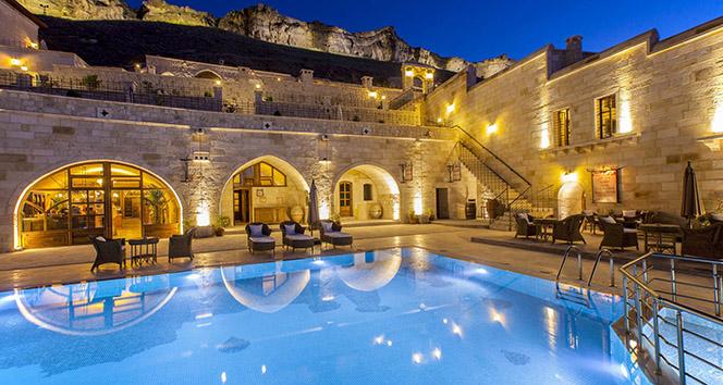 Dünyanın en lüks oteli Kapadokya'da