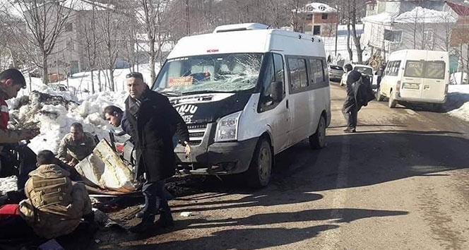 Ordu'da minibüsle patpat çarpıştı: 1 ölü, 1 yaralı!