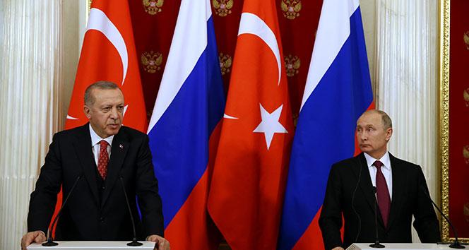 Cumhurbaşkanı Erdoğan, Putin görüşmesi sonrası önemli açıklamalar