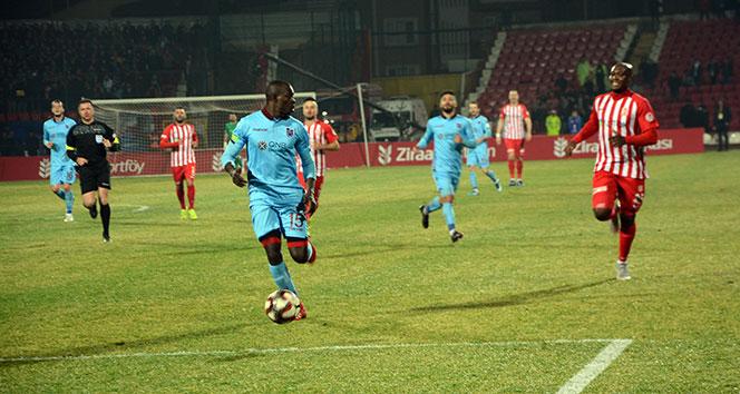 Trabzonspor, kupada çeyrek finalde | Balıkesirspor - Trabzonspor kaç kaç?