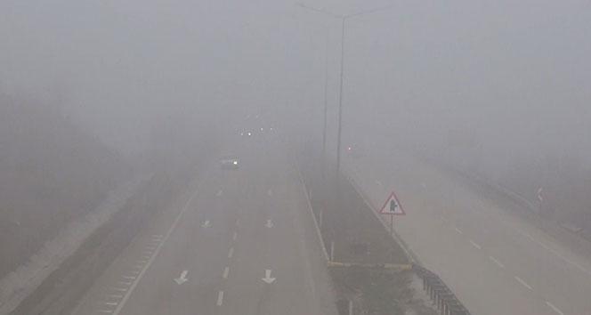43 ilin geçiş noktasında yoğun sis