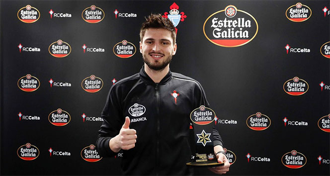 Okay Yokuşlu Aralık ayının en iyi futbolcusu seçildi