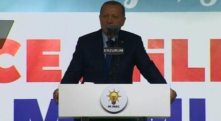 Cumhurbaşkanı Erdoğan: 1 Nisanda yıkım senaryoları kuranlara esaslı bir ders vereceğiz