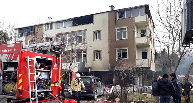 Büyükçekmece'de apartmanda şiddetli patlama: 1'i ağır 2 yaralı