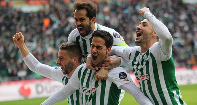 Konyaspor, Antalyaspor'u 2 golle geçti