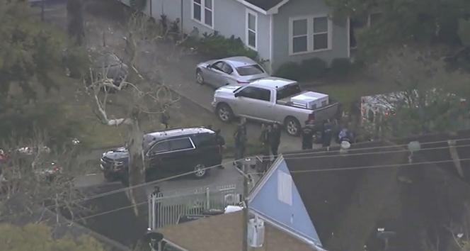 ABD'de silahlı çatışmada 5 polis vuruldu
