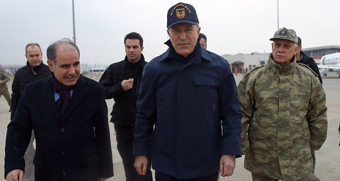 Bakan Akar, ABD Savunma Bakan Vekili Shanahan ile telefonda görüştü