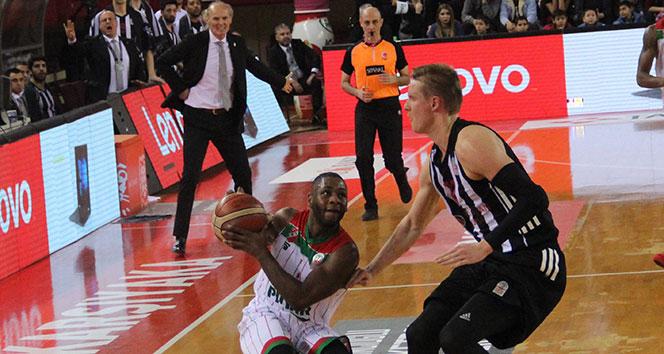 Karşıyaka, Beşiktaş'ı uzatmalarda devirdi