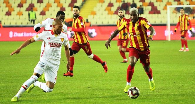 Yeni Malatyaspor, tek golle avantajı kaptı