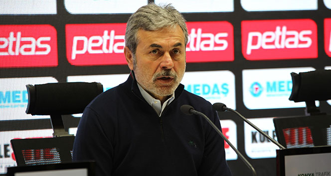 Aykut Kocaman: 'Oyun Malatyaspor'un istediği gibi geçti'