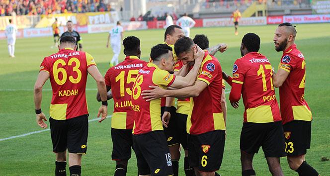 Göztepe 3 puanı 3 golle aldı