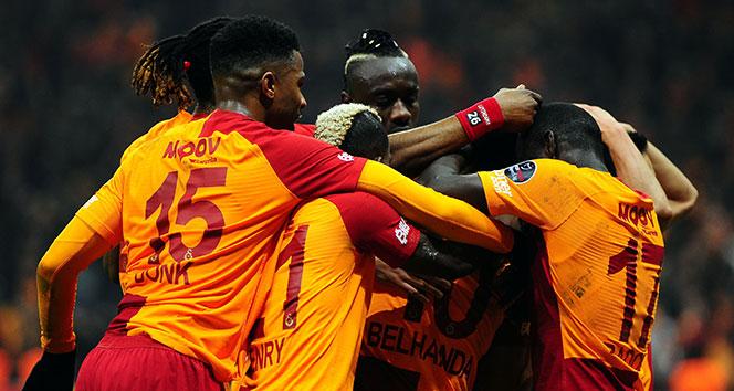 Galatasaray, ligde 7 maçtır yenilmiyor