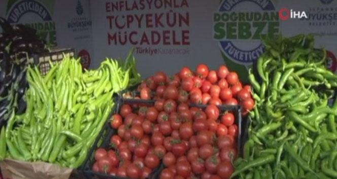 Bayrampaşa'da tanzim satışı başladı
