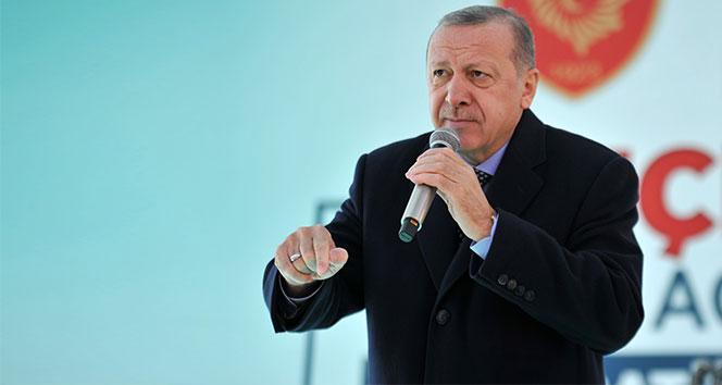 Cumhurbaşkanı Erdoğan:'Fiyatlar yarıya indi, daha da inecek'