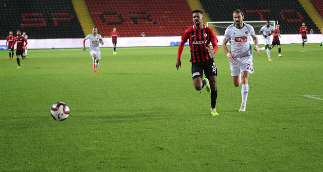 Gazişehir 2 golle kazandı