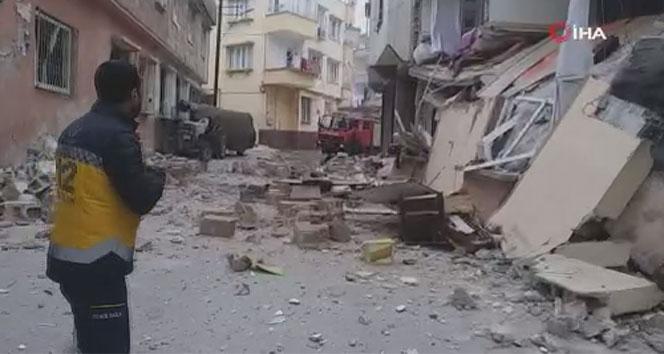 Gaziantep'te iki ayrı patlama mahalleyi boşalttırdı
