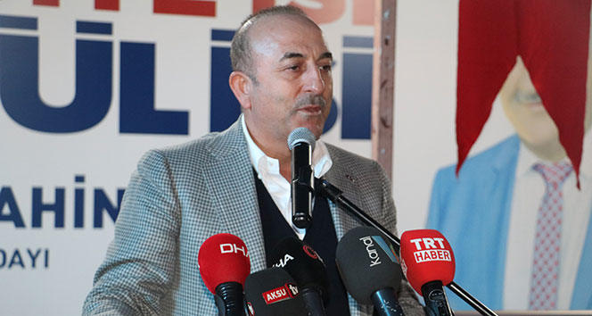 Çavuşoğlu: 'PKK'nın izni olmasa bir adım atamaz'