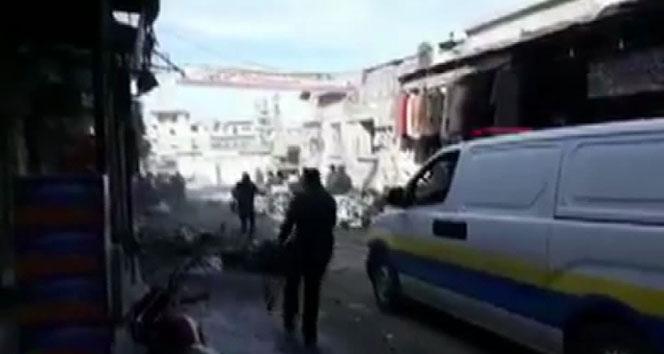 Esad rejimi İdlib'e saldırdı: 1 ölü, 5 yaralı!