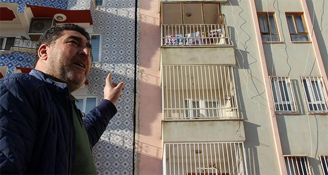 Şanlıurfa'da vatandaşların hasarlı bina korkusu