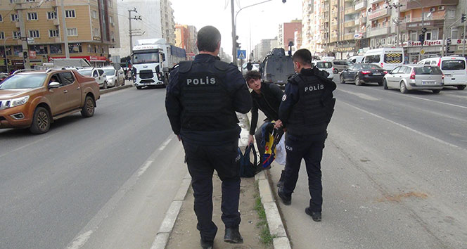 Kızıltepe'de şüpheli çanta paniği
