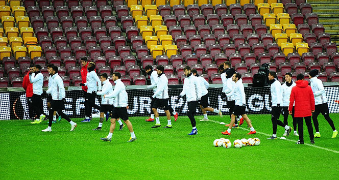 Benfica, Galatasaray maçına hazır!