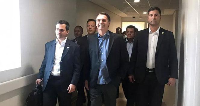 Brezilya Devlet Başkanı Bolsonaro yoğun bakımdan çıkarak taburcu oldu