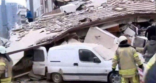 Kartal'da çöken binayla ilgili 2 tutuklama