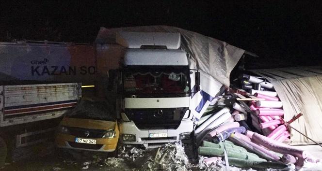 Bolu-Ankara yolunda zincirleme kaza